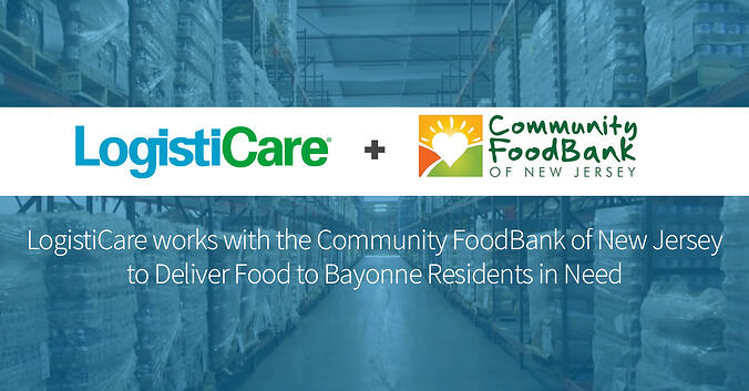 LogistiCare Delivers Food to Bayonne Residents in Need
