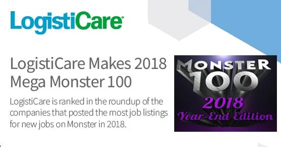 LogistiCare Makes 2018 Mega Monster 100