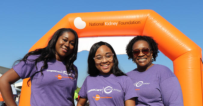LogistiCare Donates Vital Funds to National Kidney Foundation Over Six Years