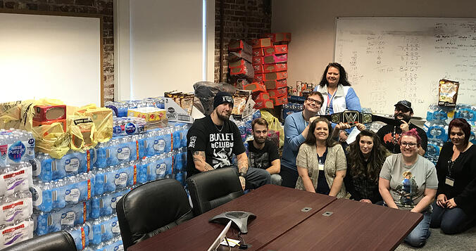 LogistiCare Sets New Food Donation Record During Ninth Annual Food Drive