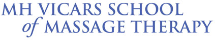 MH Vicars School of Massage Therapy Logo