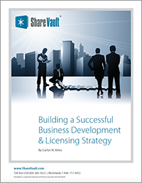White Paper: Building a Successful Business Development and Licensing Strategy