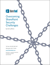 White Paper: Overcoming SharePoint Security Challenges