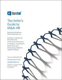 The Seller's Guide to M&A HR
