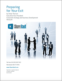 White Paper: Preparing For Your Exit