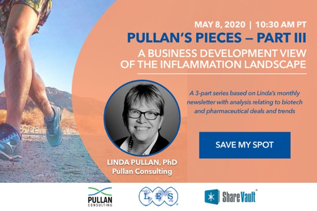 Webinar | Pullan's Pieces III - A Business Development View of the Inflammation Landscape