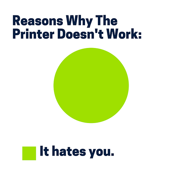 4 Printer Problems We Can All Relate To.