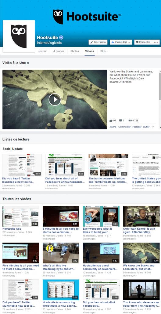Facebook : un onglet vidéo qui concurrence les chaînes Youtube