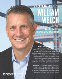 Spotlight ON_ Bill Welch - Duo Security