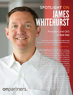 Spotlight ON_ James Whitehurst