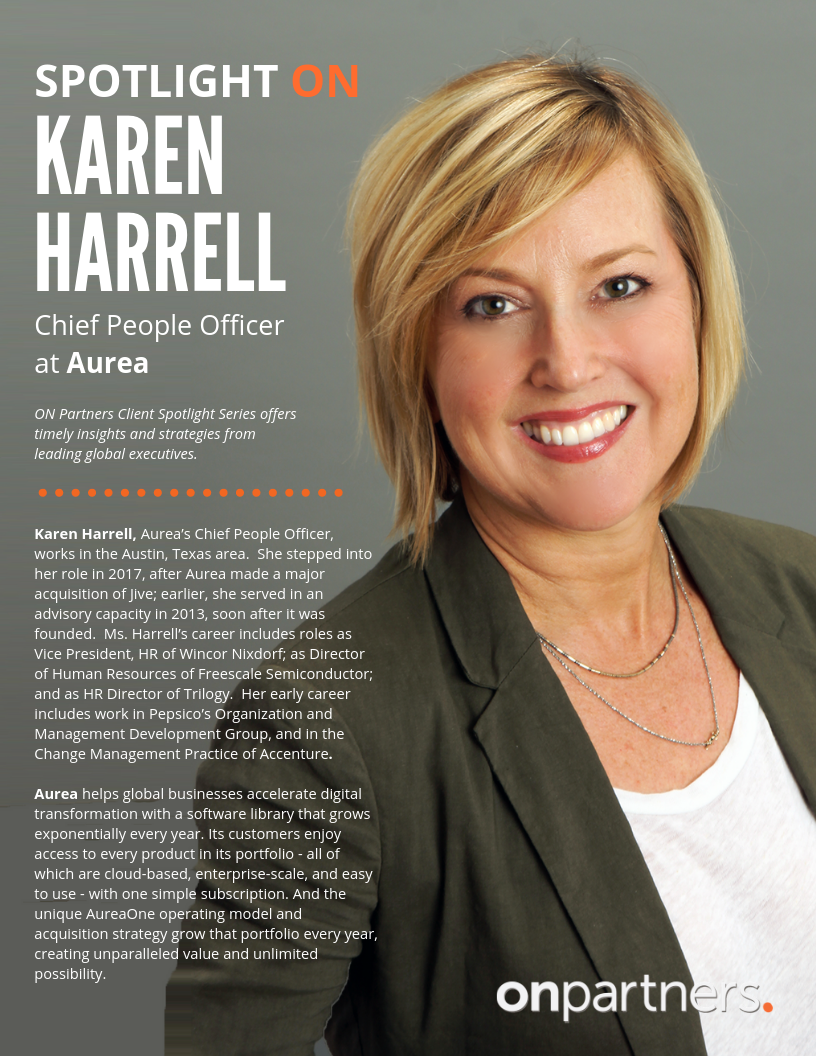 Spotlight ON_ Karen Harrell, Aurea
