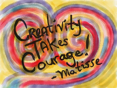 creativity courage matisse