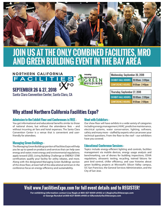 Northern California Facilities Expo