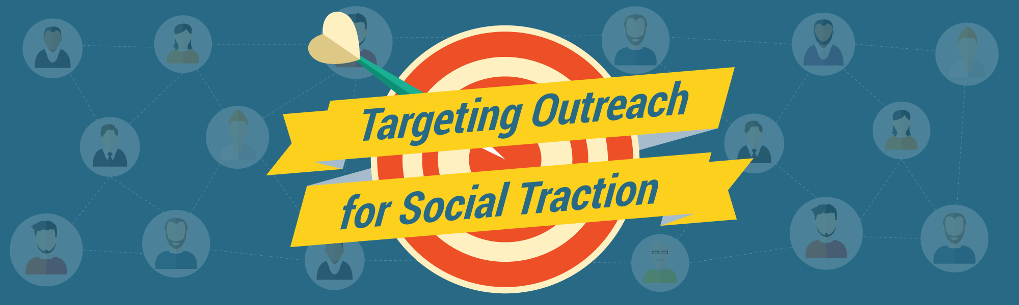 Targeting Outreach for Social Traction Infographics