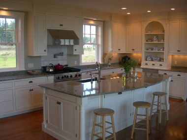Kitchen design - farmhouse style