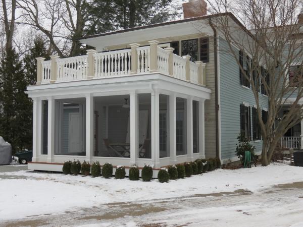 Victorian addition - 3 season porch