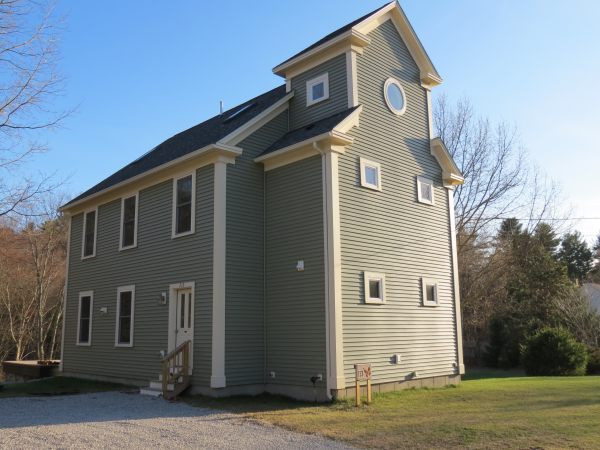 Custom designed new home - an old school house