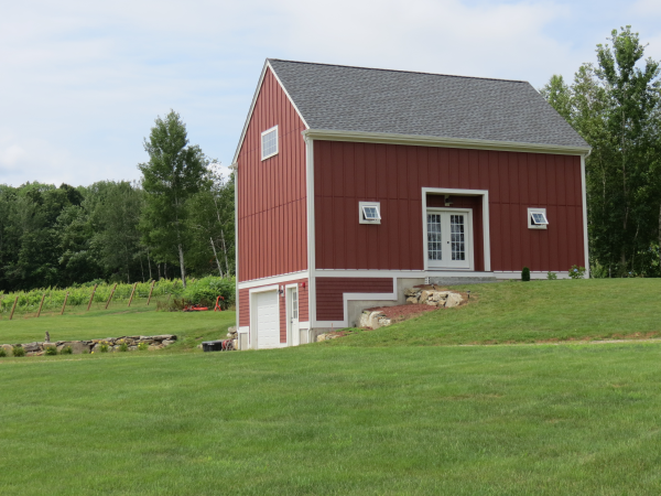 Photos of new old home saltbox style for New england barns for sale