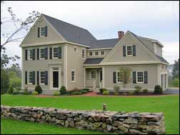 Builder of new england style homes new old homes Old style homes built new