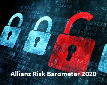 Die Angst vor Cybercrime - Das Allianz Risk Barometer 2020