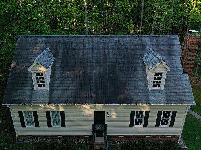 Mold, mildew, and algae resistant roofing
