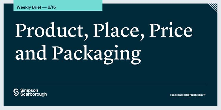 Product, Place, Price, and Packaging