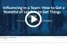 Influencing Leaders Webinar