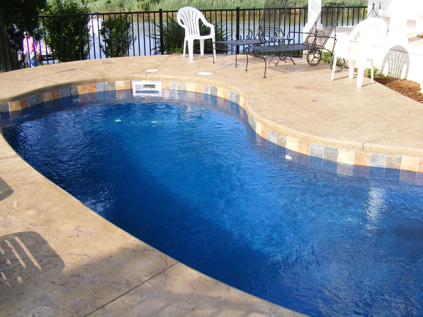 Pavers Around Swimming Pool Pool Coping Paver Vs Cantilevered Concrete Quick Comparison