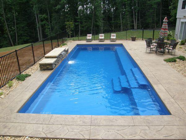 Fiberglass Pool Designs popular fiberglass swimming pool shapes and colors Are Fiberglass Pools Too Skinny And Does Width Really Matter