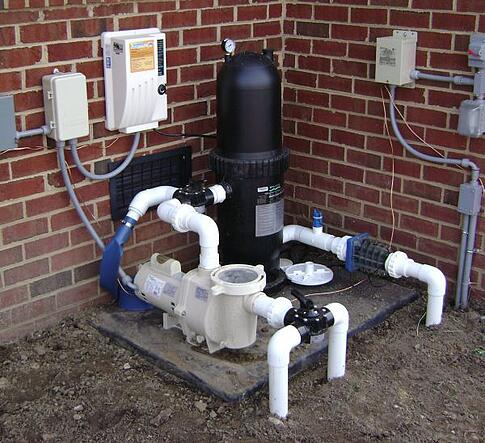 Filter system for a pool