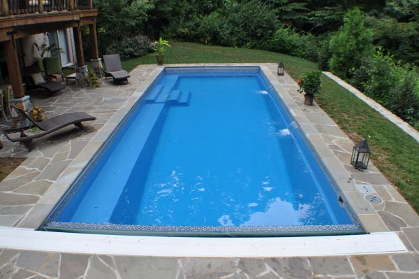 Fiberglass Pools Plus Concrete Vinyl And Above Ground Info Fiberglass Pool Myths