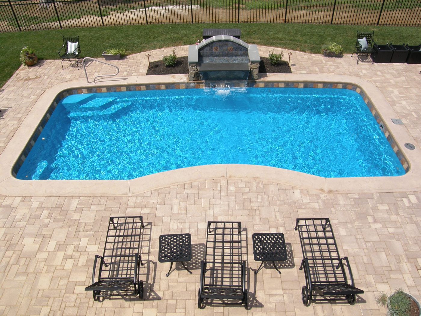 Pool Designs And Cost superb small pools backyards pacific paradise 99 backyard pool designs arizona 4 Thingsthat Will Dictate The Price Of Your Fiberglass Pool In 2014