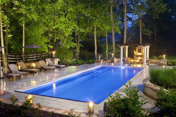 Elegant Pool Designs find this pin and more on elegant pool Beautiful And Elegant Fiberglass Pool Wins Master Of Design Award