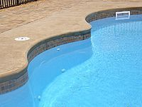 Fiberglass Pool Tiles Waterline
