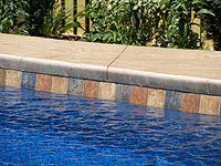 Fiberglass Pool Tiles Waterline Aztec