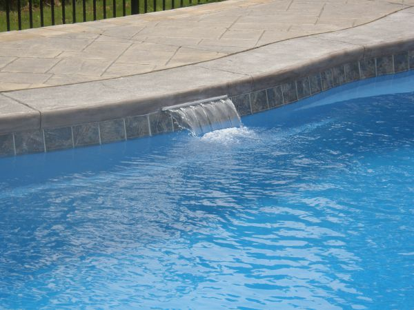 Fiberglass Pool Water Features