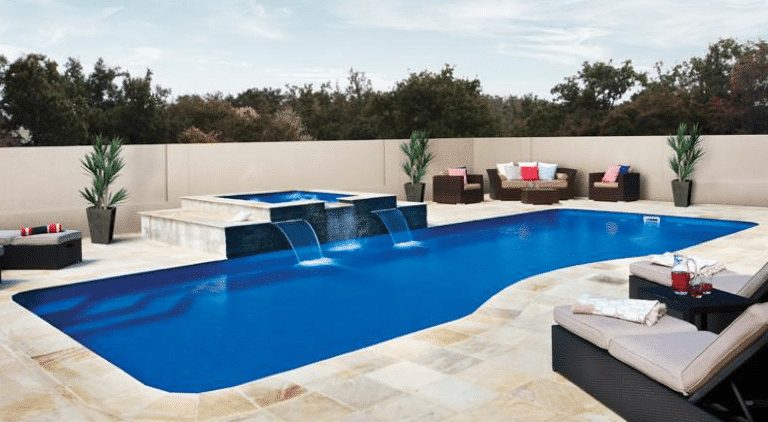 The best inground fiberglass swimming pools designs of 2013 for Best looking above ground pools