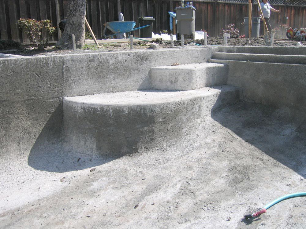 concrete pool problems