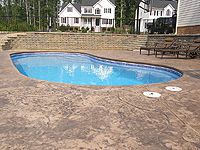 Jumbo Stone Stamp Sandstone With Dark Brown Accent