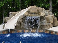 Water Features Custom Man-Made Rock