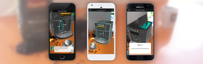 What's next for Amazon AR View? RE'FLEKT shows interactive product support