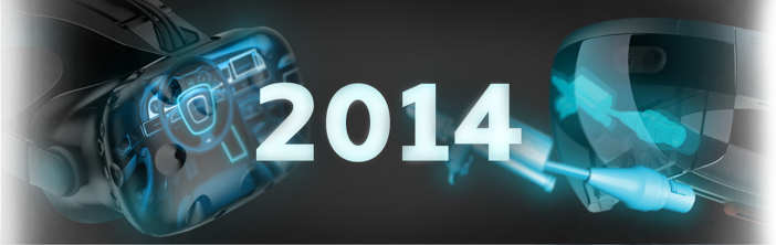 Tops und Flops 2014: Augmented Reality, Virtual Reality, Wearables