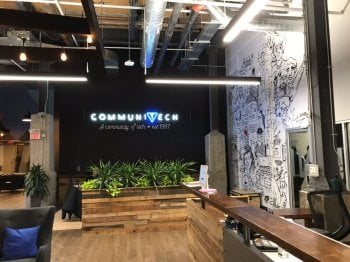 OUR NEW HQ IS ESTABLISHED AT THE COMMUNITECH HUB