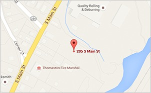 Thomaston Office Map