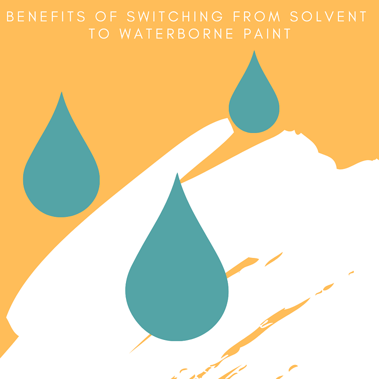 Benefits Of Switching From Solvent To Waterborne Paint