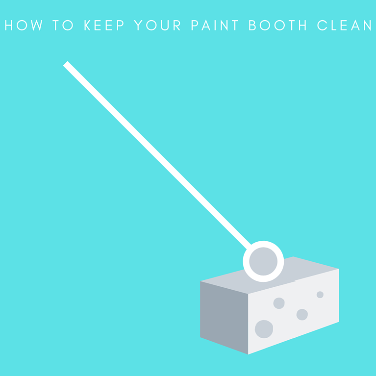 How To Keep Your Paint Booth Clean(1)