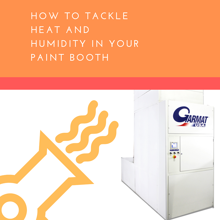 How To Tackle Heat And Humidity In Your Paint Booth