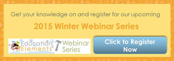 Winter Webinar Series Education Elements