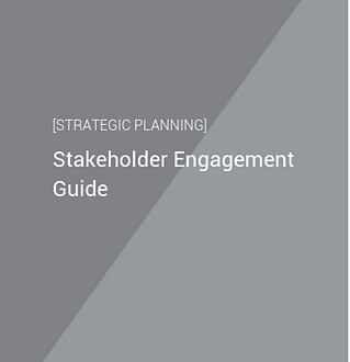 stakeholder engagement guide cover