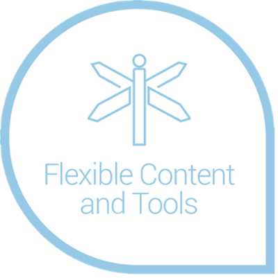 Flexible content and tools